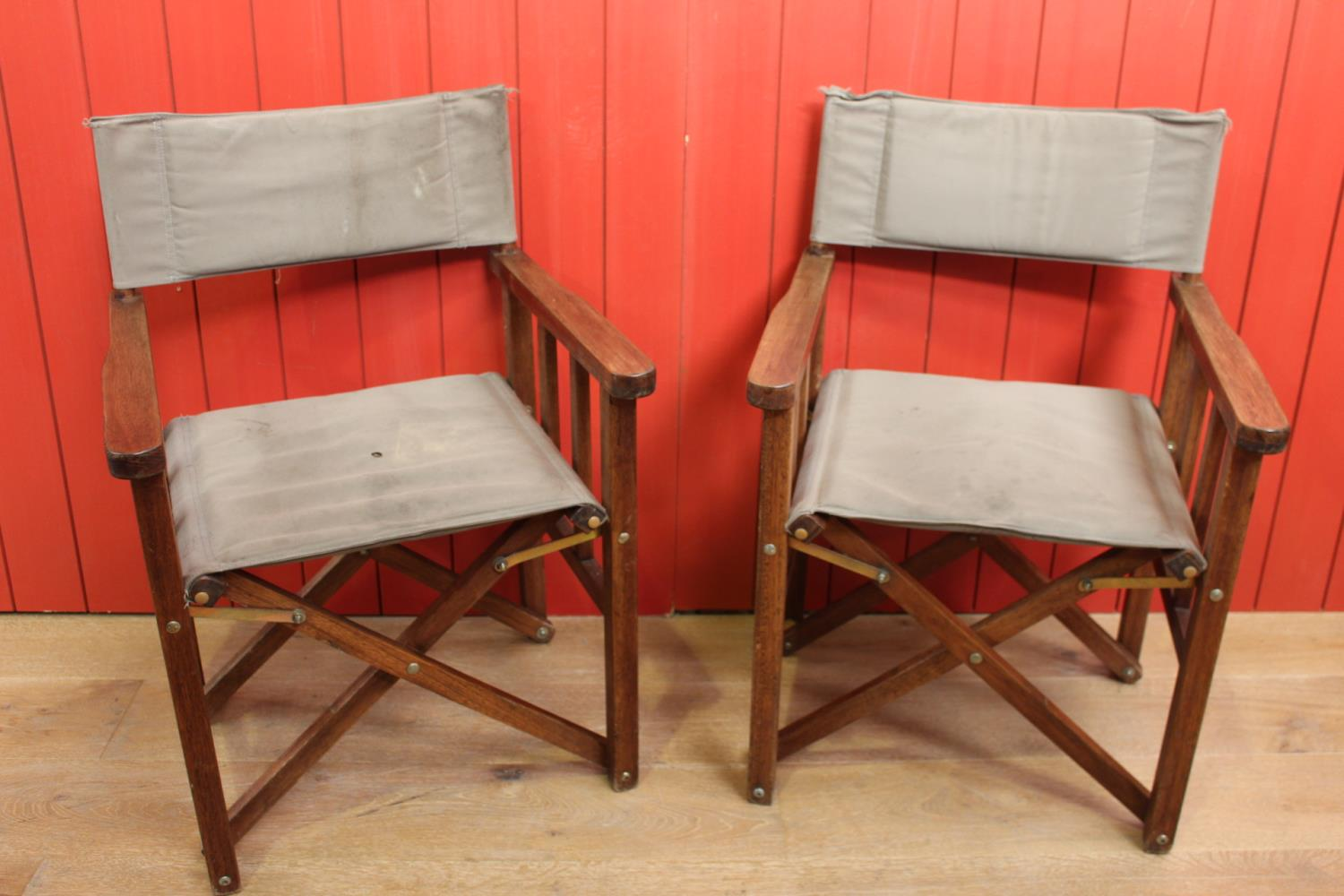 Pair of Director's chairs.