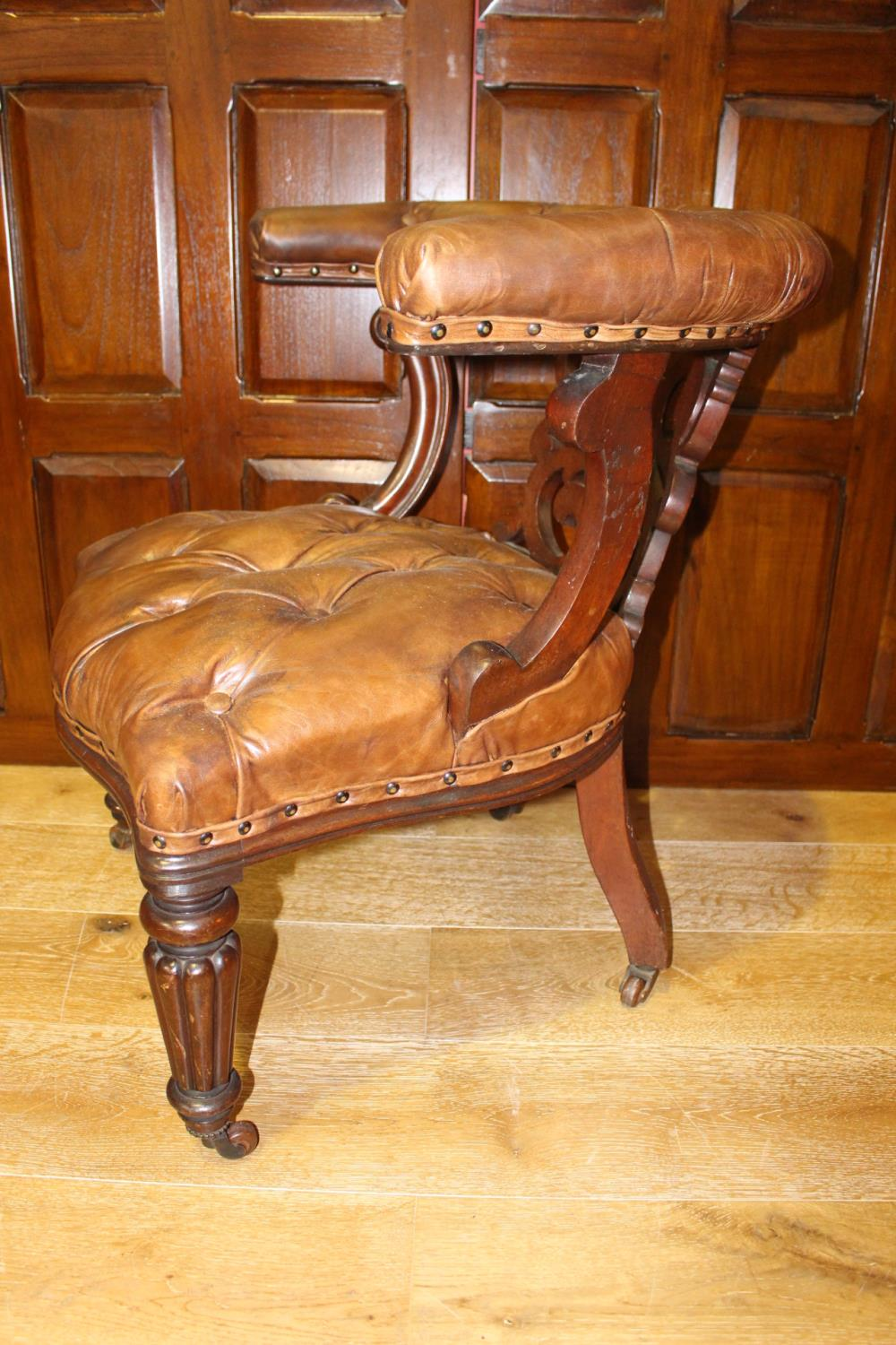 19th C. armchair - Image 2 of 3