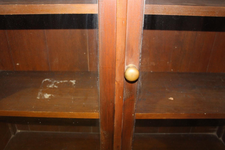 19th C. mahogany shop floor cabinet - Image 3 of 3