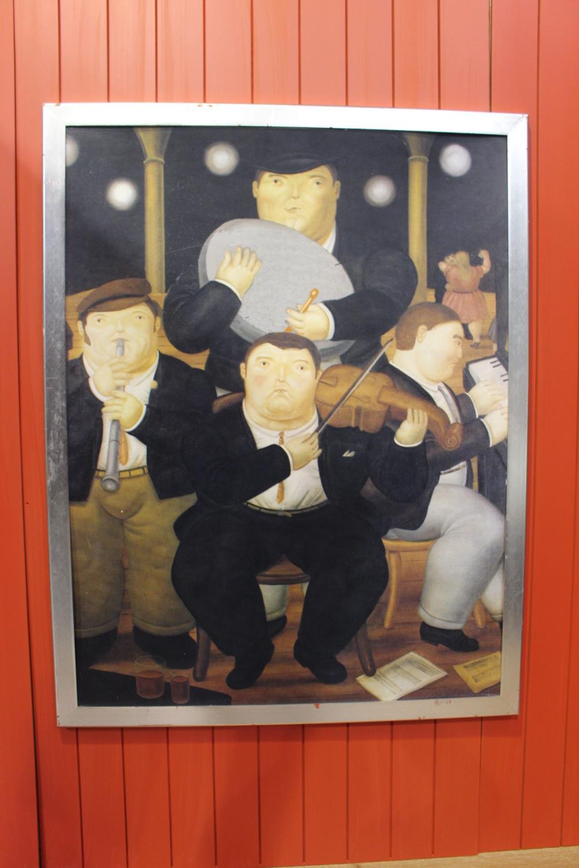 Irish Traditional Folk Band print - Image 3 of 4