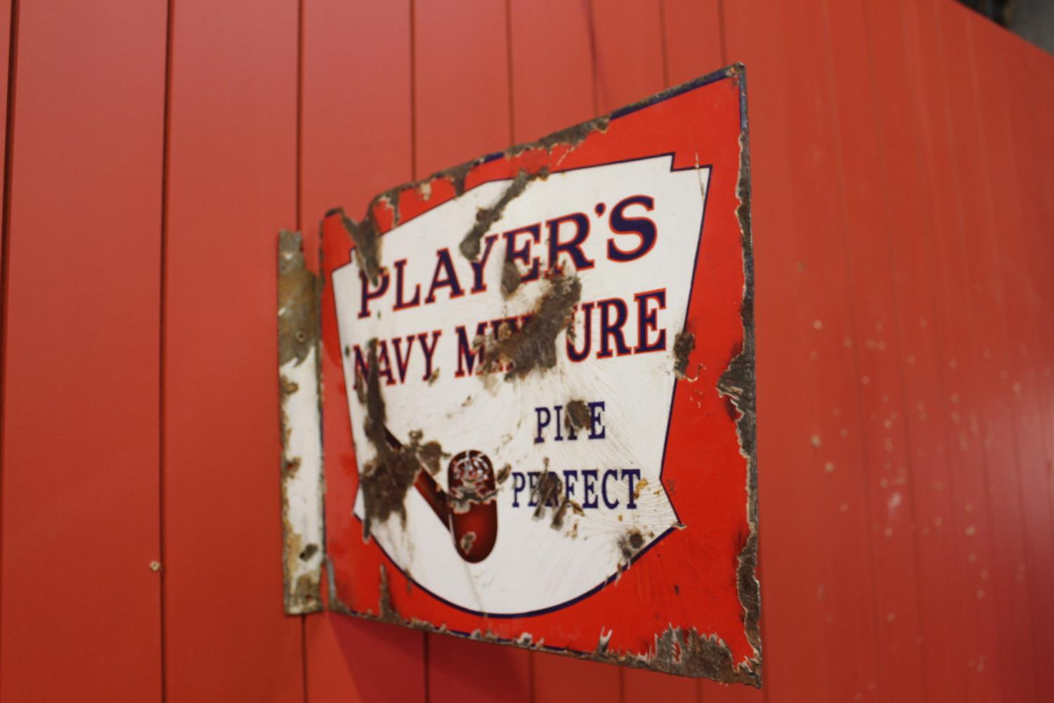 Extremely rare Player's Navy Mixture Pipe Perfect - Image 2 of 3