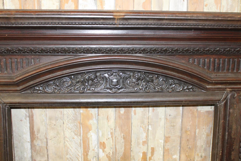 Cast iron decorative chimney piece - Image 2 of 3