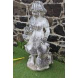 Stone statue of Girl