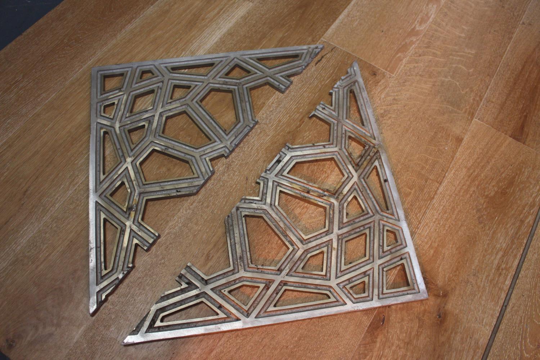 Aluminium floor / ceiling panels - Image 3 of 3