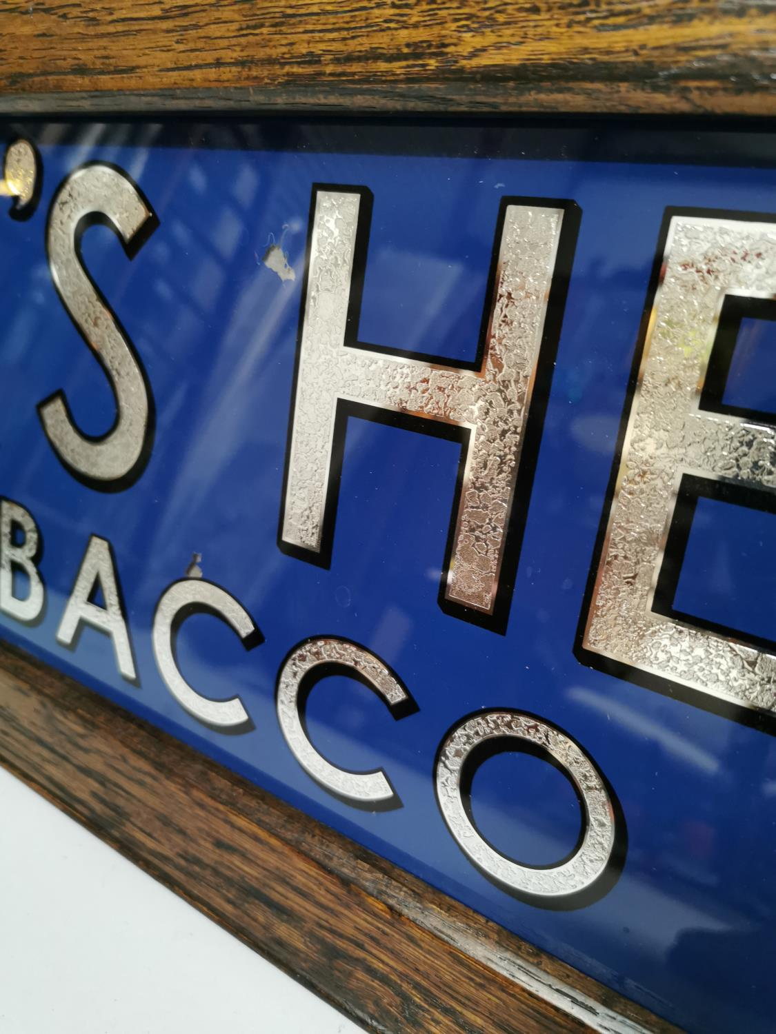 Boar's Head tobacco advertising sign. - Image 3 of 4
