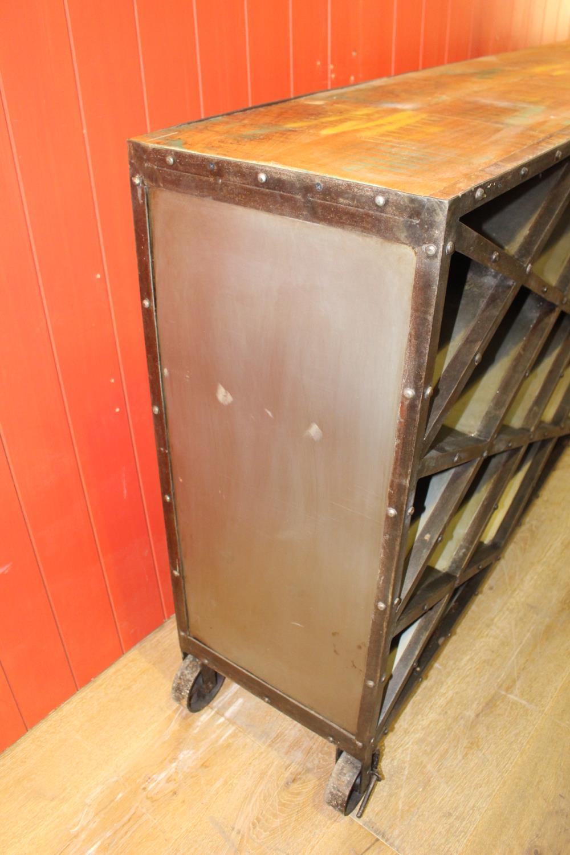 Metal wine rack - Image 2 of 2
