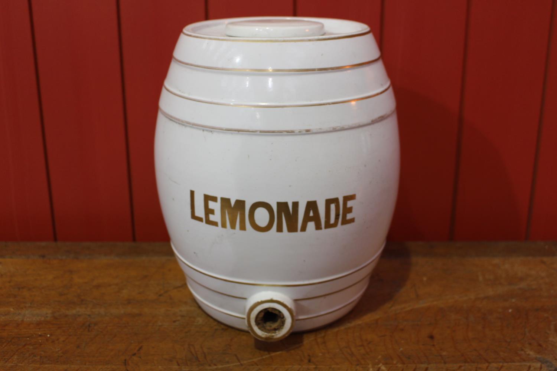 19th C. ceramic Lemonade dispenser