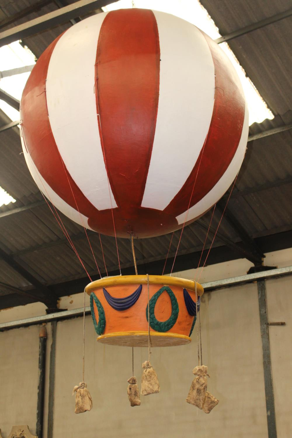 Resin model of Hot Air balloon