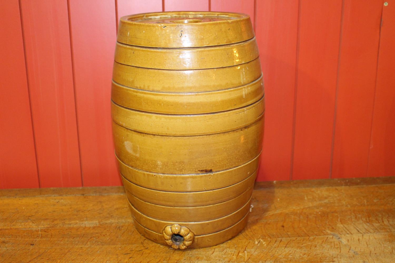 19th C. ceramic six gallon glazed dispenser