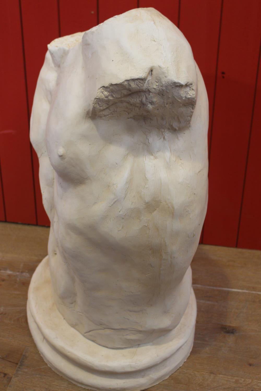 Resin model of male torso. - Image 2 of 2