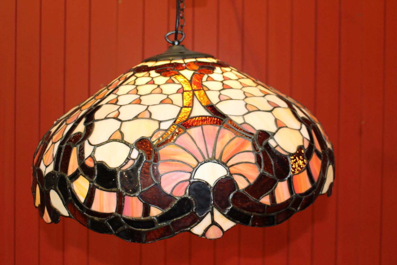 Tiffany style hanging lampshade