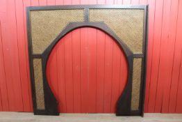 Double sided oak arch