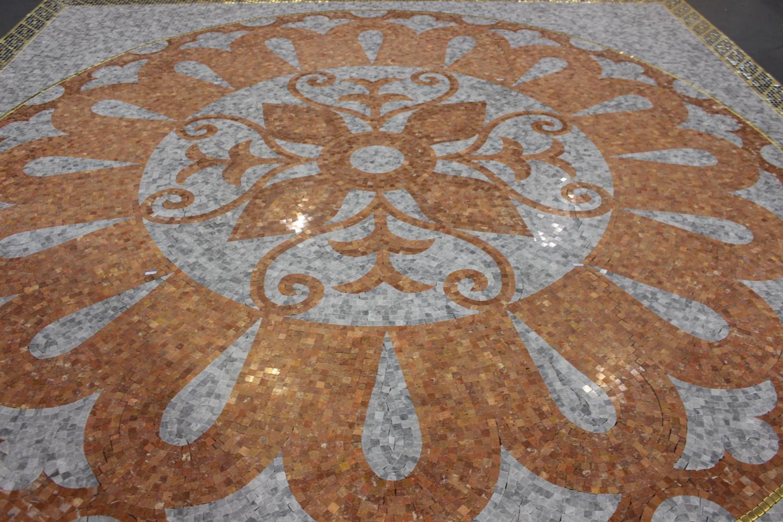 Floor mosaic - Image 3 of 3