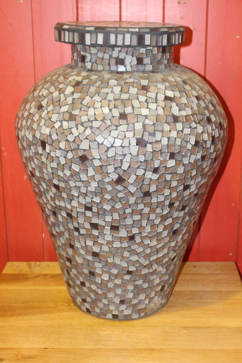 Mosaic stand - Image 2 of 2