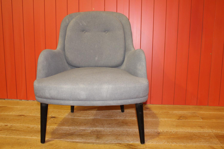 Modern upholstered armchair
