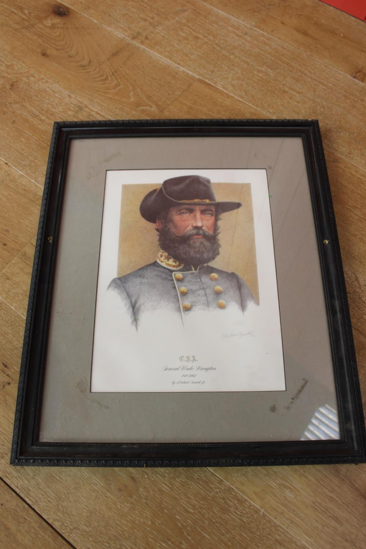 General Wade Hampton print