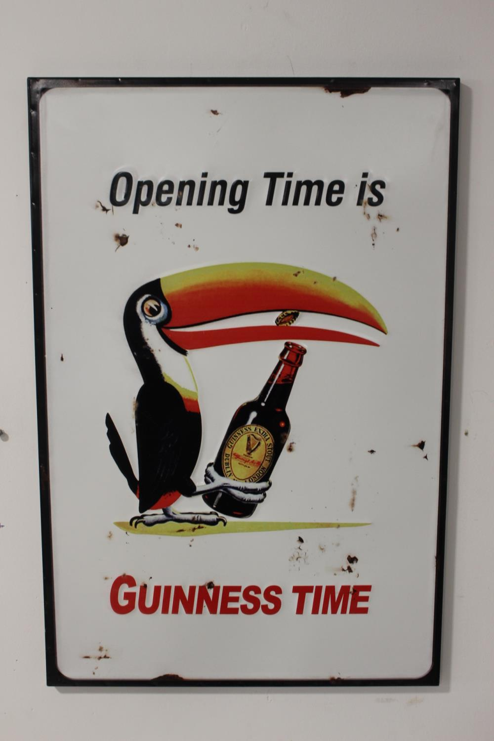 Opening time is Guinness time