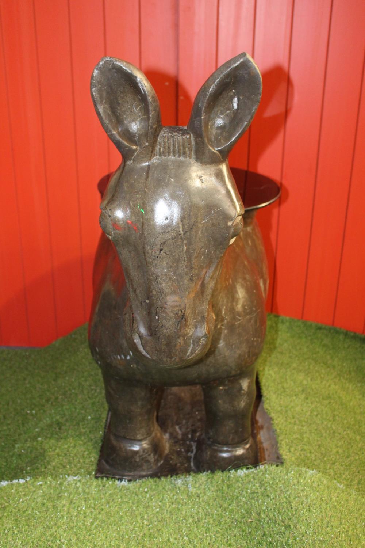 Stone model of a Donkey - Image 3 of 4