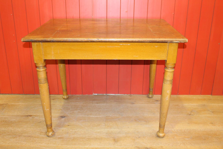 Beech farmhouse kitchen table