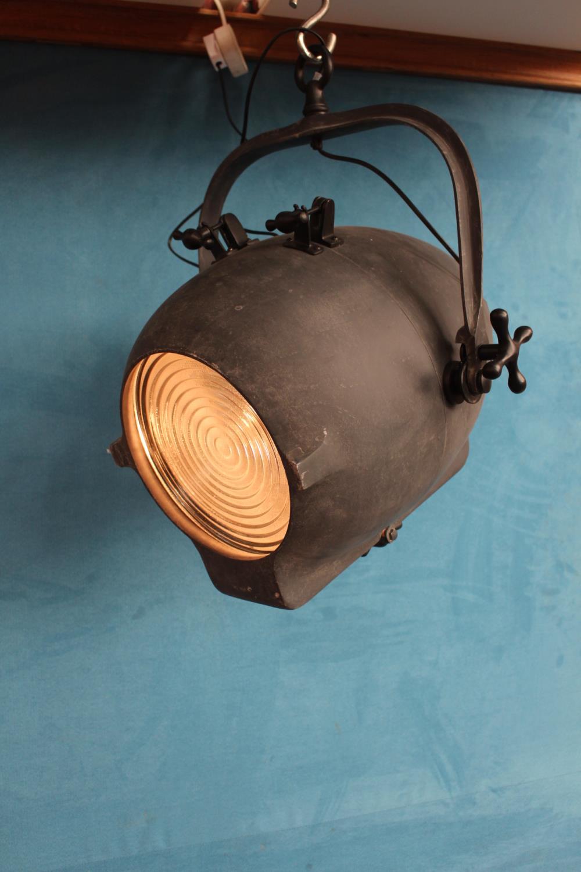Hanging spotlights