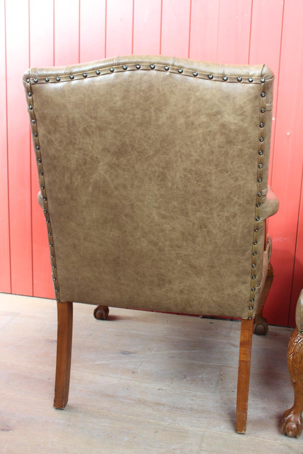 Pair of Gainsborough armchairs - Image 2 of 2