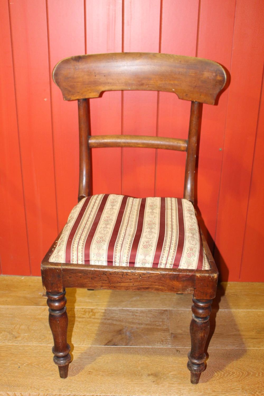 19th C. mahogany chair