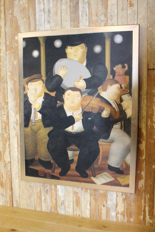 Irish Traditional Folk Band print