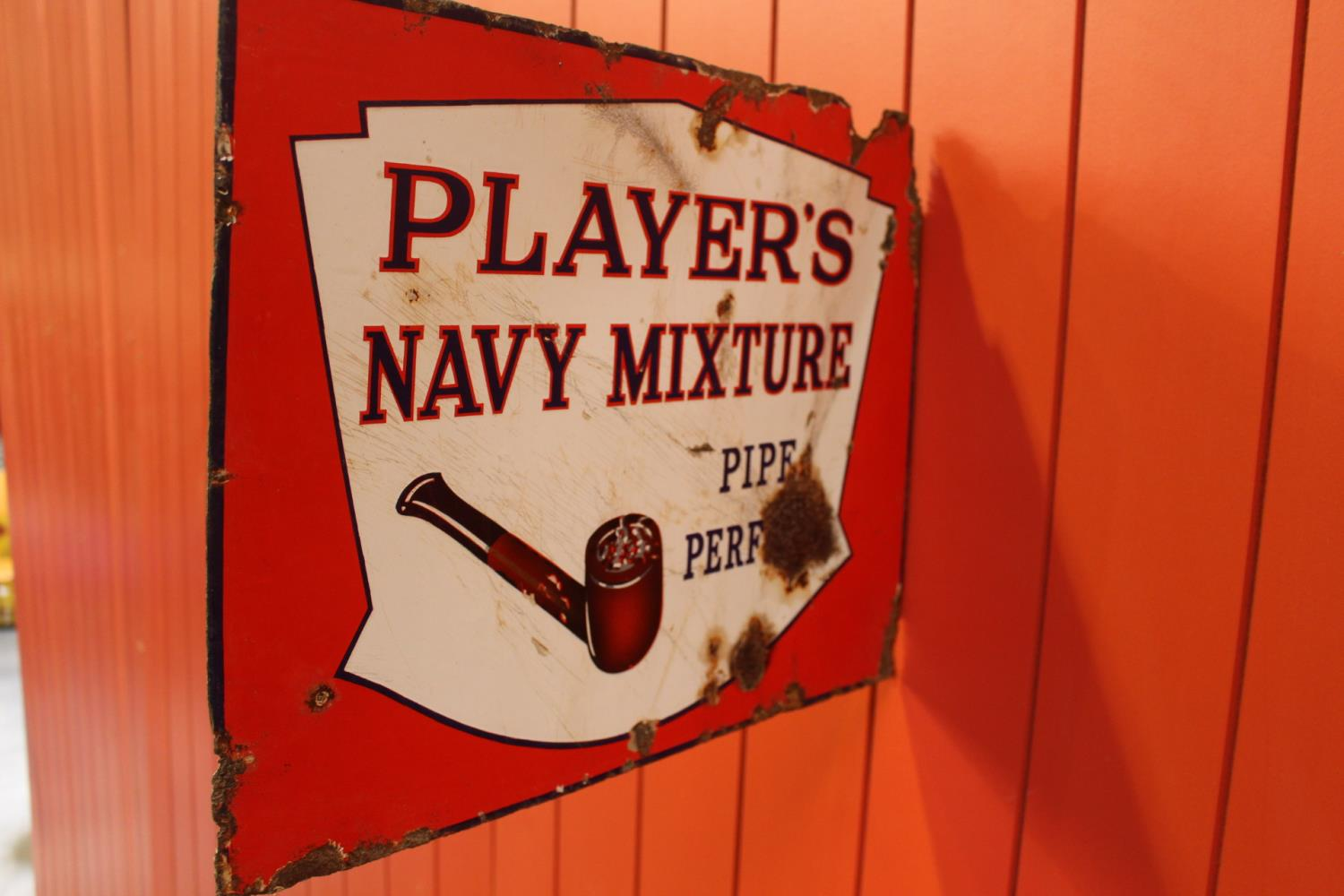 Extremely rare Player's Navy Mixture Pipe Perfect - Image 3 of 3