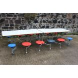 Children's two picnic table and seats