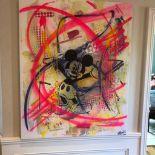 Parscha Mirghawameddin Mickey No 1 Acrylic On Canvas