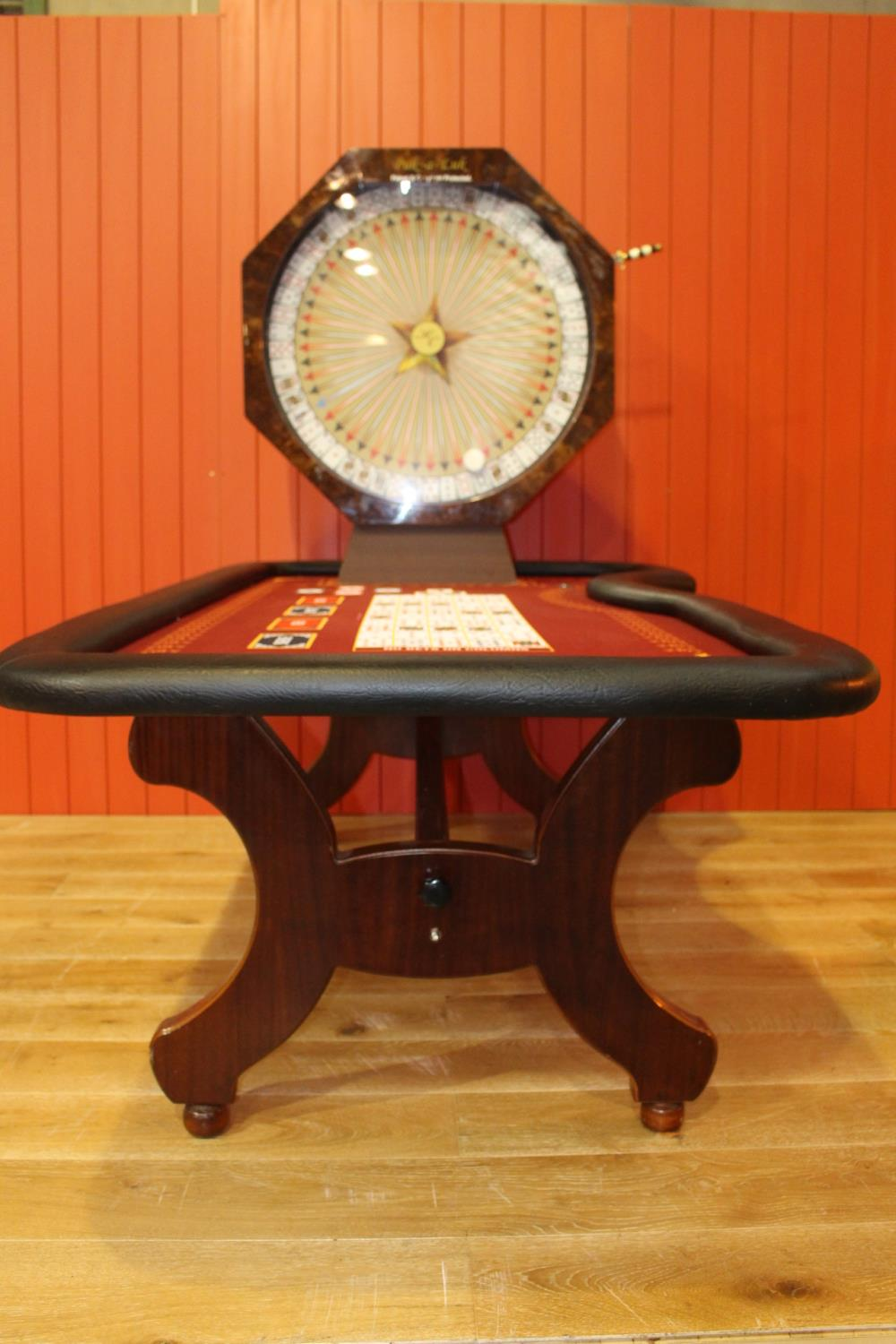 Roulette card table - Image 4 of 4