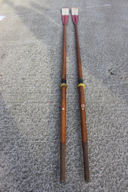 Pair of oars