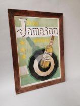 John Jameson Whiskey advertising print.
