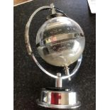 1960's brass and steel German weather station