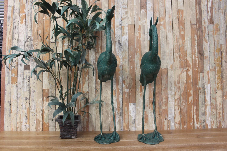 Cast iron models of Storks - Image 2 of 2