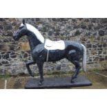 Life size model of Horse