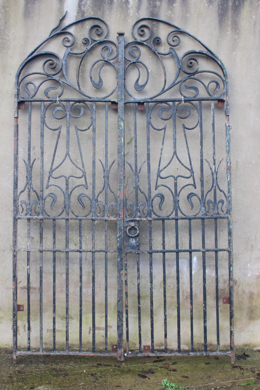 Pair of entrance gates