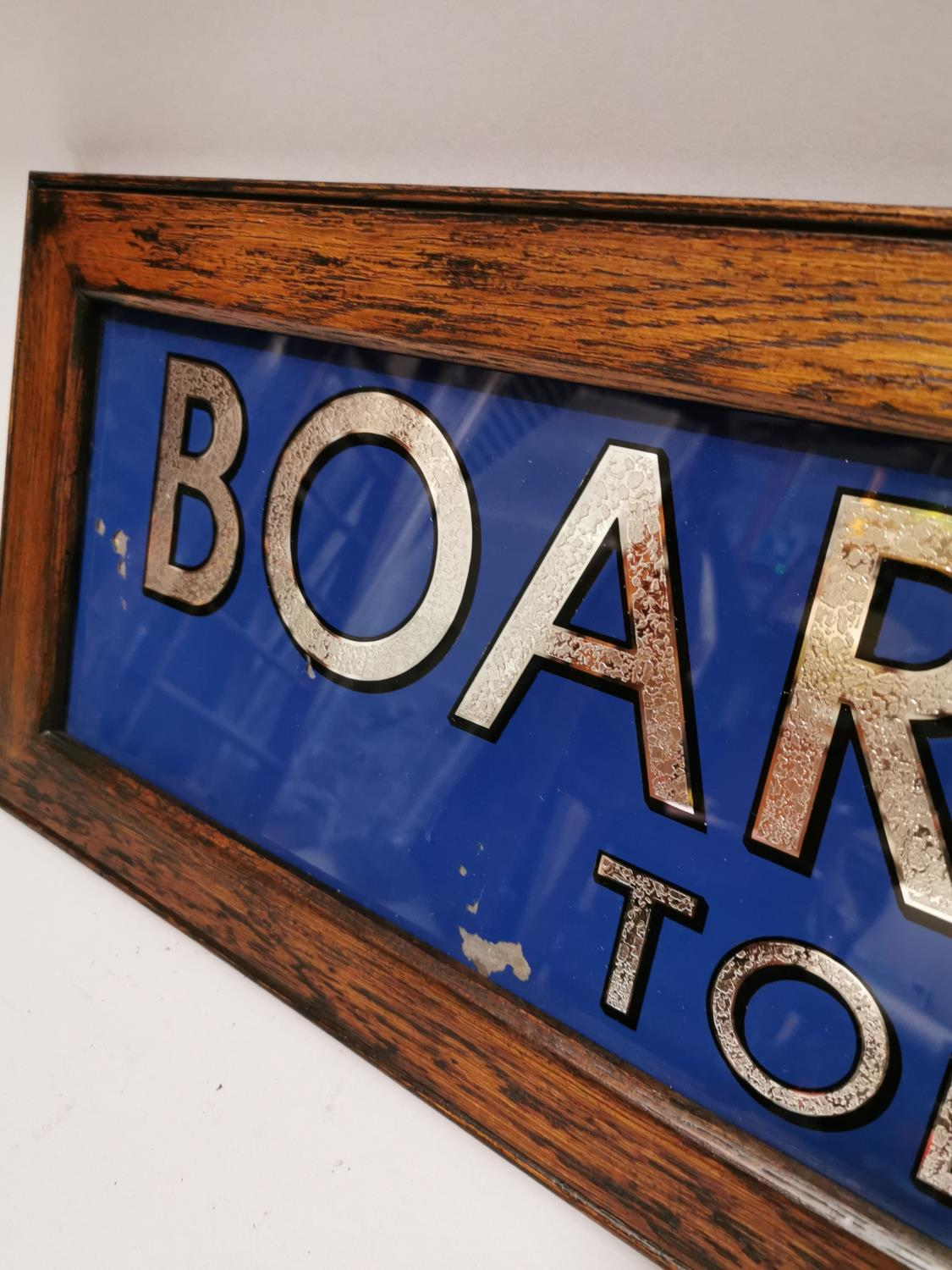 Boar's Head tobacco advertising sign. - Image 2 of 4