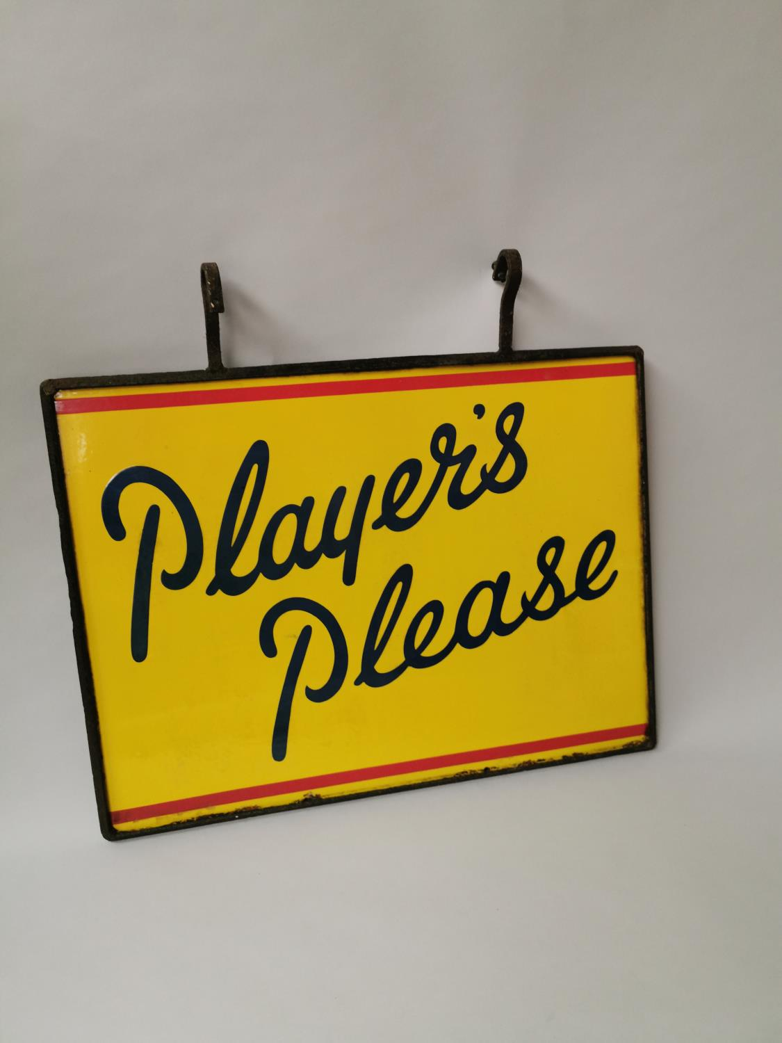 Player's Please enamel advertising sign. - Image 4 of 4