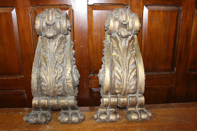 Pair of resin corbels