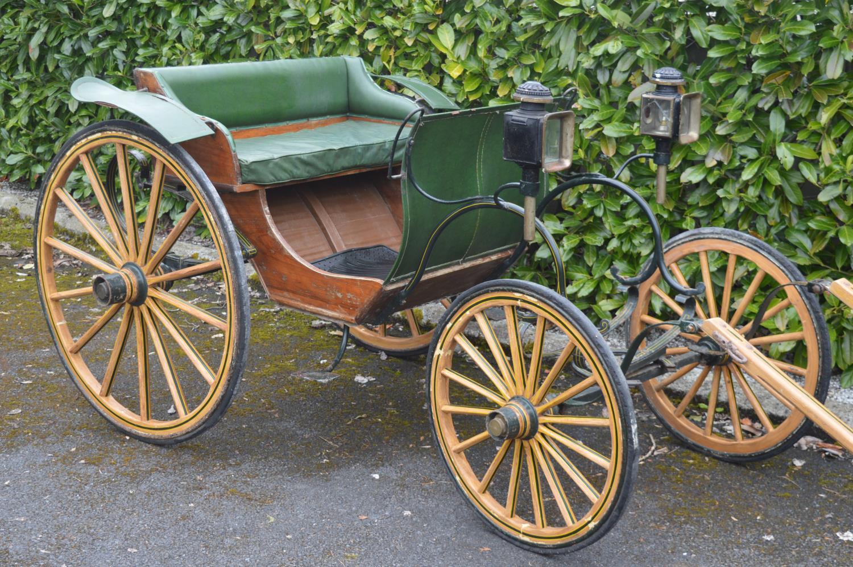 19th C. horse drawn carriage.
