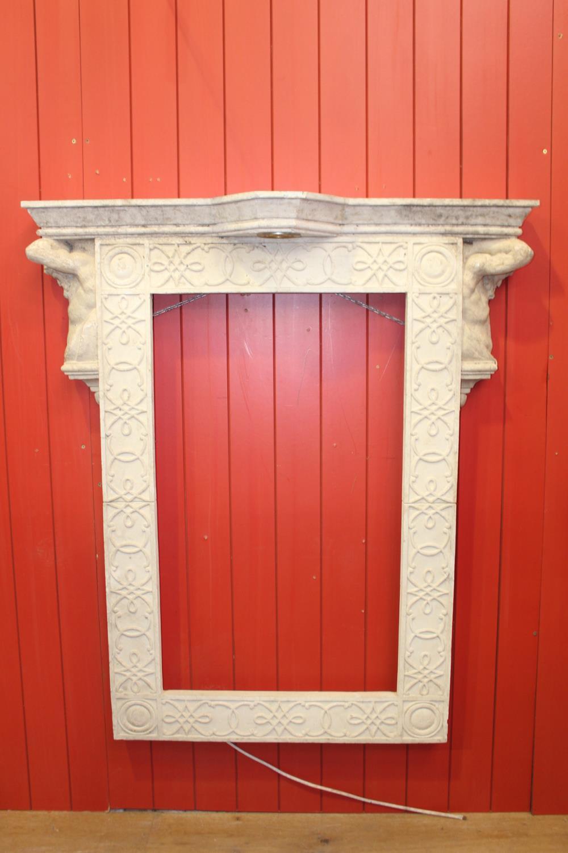 Plaster frame