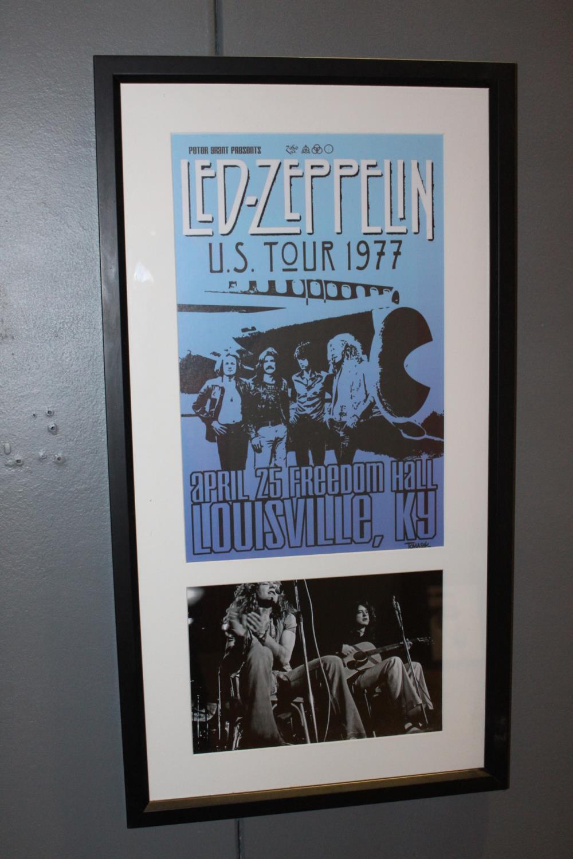Led Zeppelin print