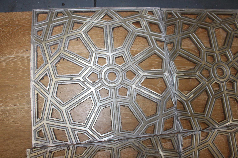 Aluminium floor / ceiling panels - Image 2 of 3