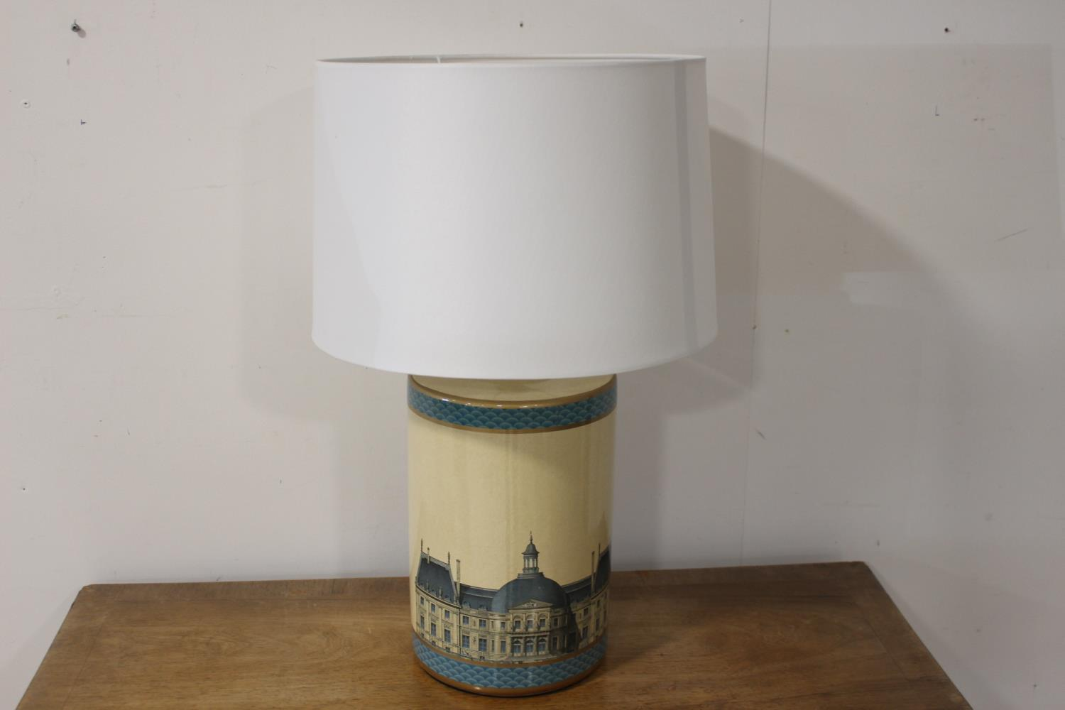 Pair of ceramic table lamps - Image 2 of 2
