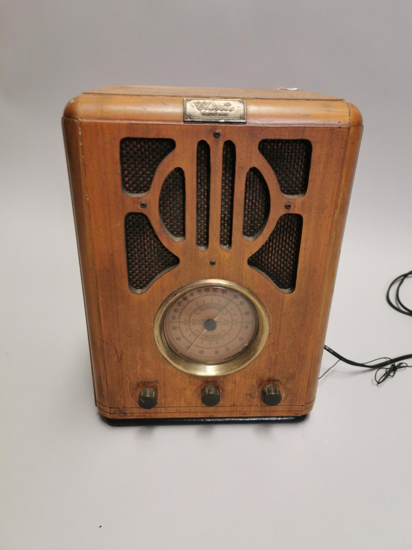 Art Deco style radio. - Image 3 of 8