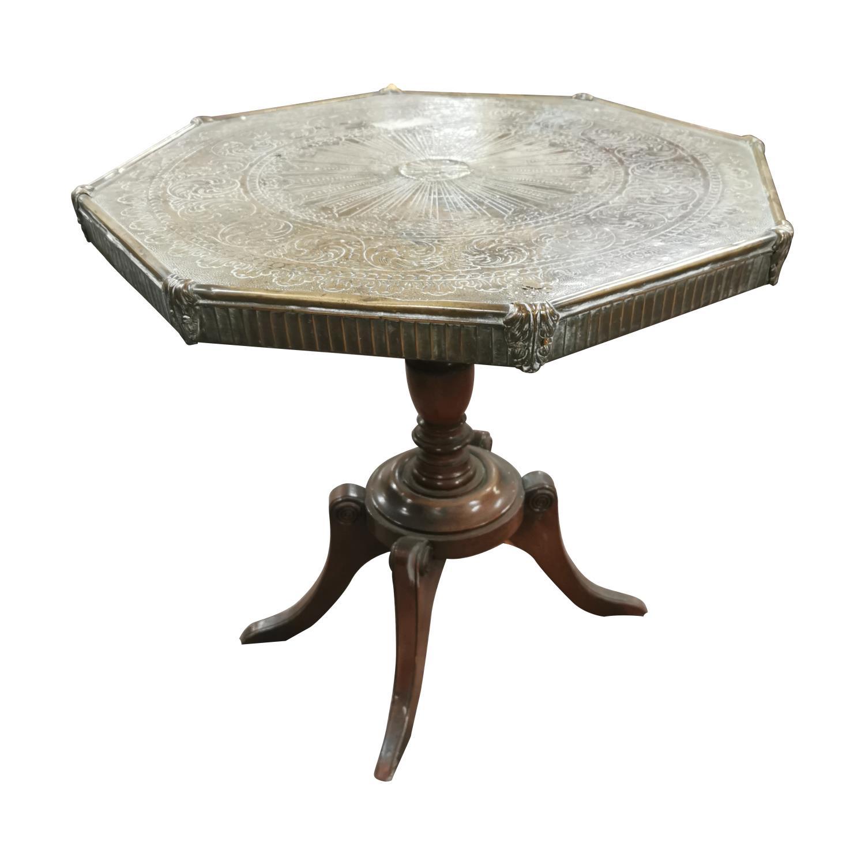 Mahogany centre table, - Image 4 of 5