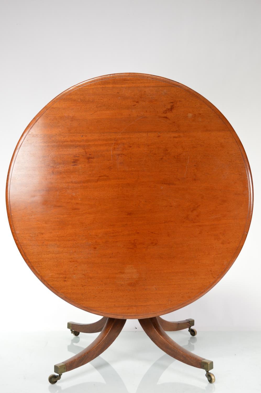 Georgian mahogany breakfast table