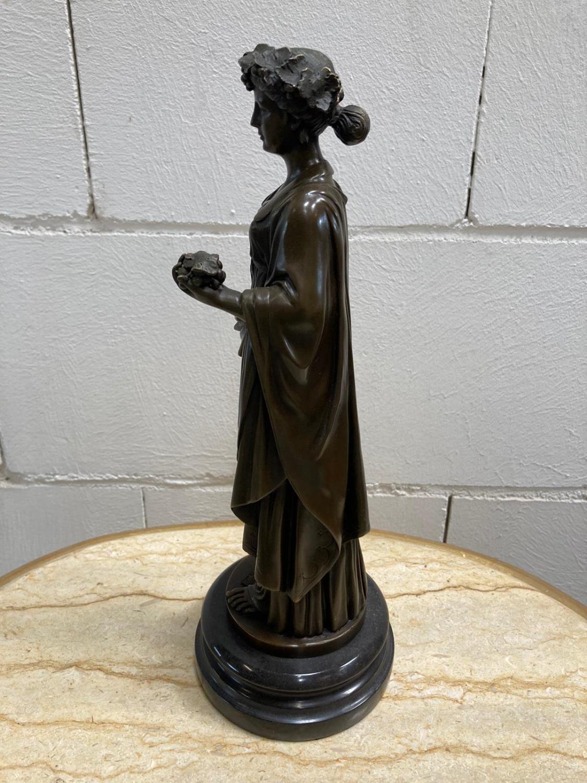 "Bronze Statue - Set of four ""Allegorical Figures"". - Image 12 of 12"