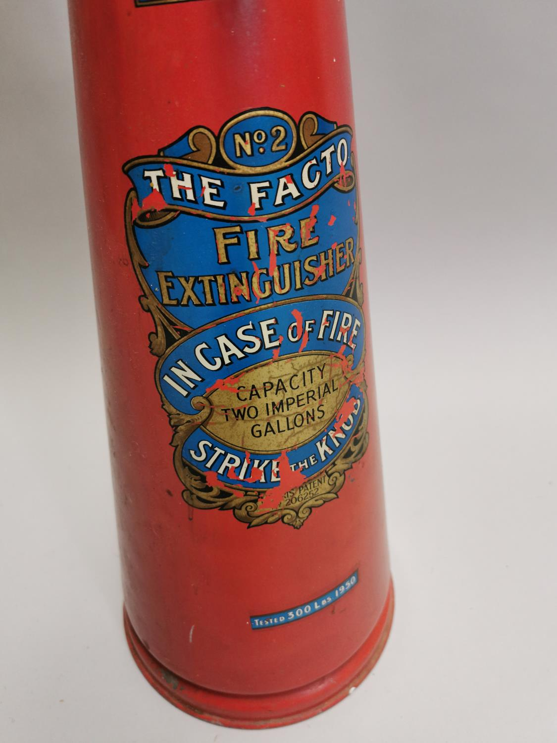 Early 20th. C fire extinguisher - Image 3 of 5